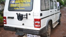 Bolero utility vehicle to an NGO
