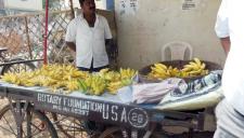 Vendor cart sponsored by Rotary